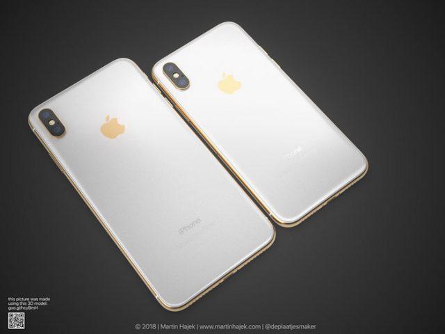 iPhone X doré : image 7