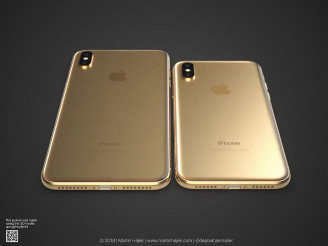 iPhone X doré : image 8