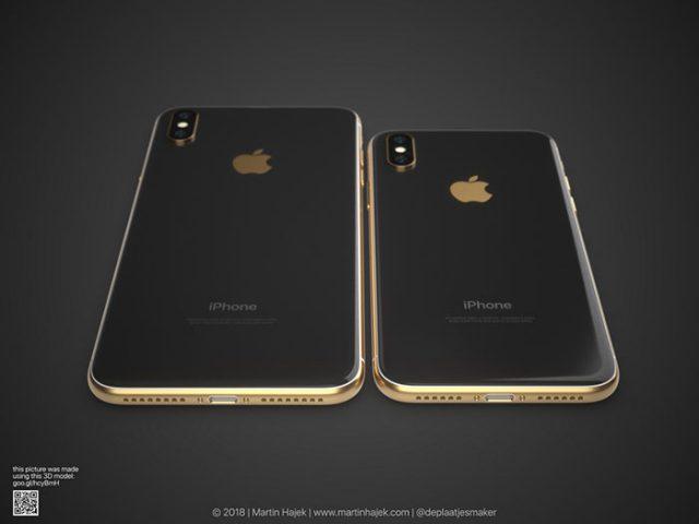 iPhone X doré : image 9