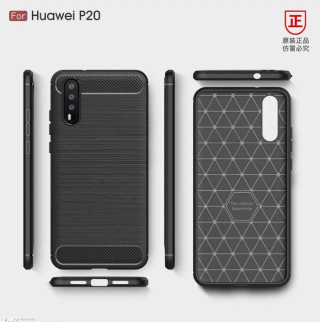 Huawei P20 rendu : image 2