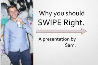 PowerPoint Tinder