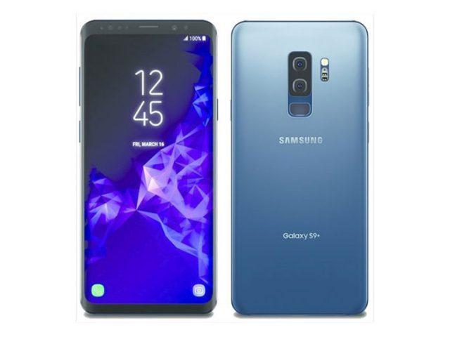 Rendu Galaxy S9+