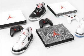 Xbox One X Air Jordan