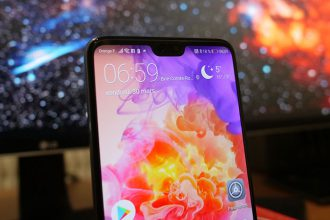 Huawei P20 Pro : avec encoche