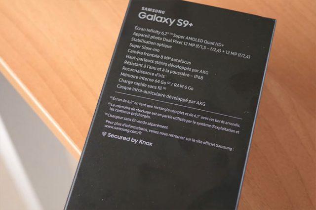 Test Galaxy S9 : image 2