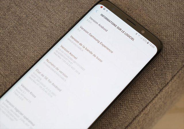 Test Galaxy S9 Surcouche : photo 1