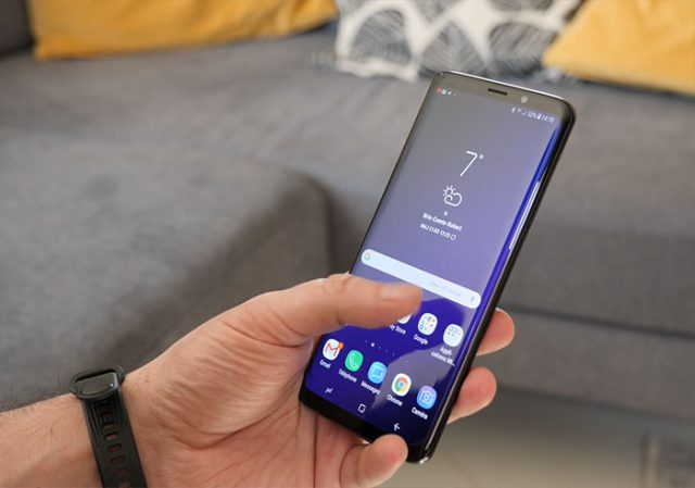 Test Galaxy S9 Surcouche : photo 2