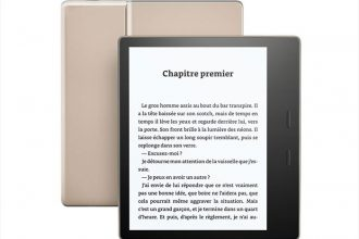 Kindle Oasis doré