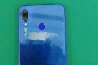 P20 Lite bleu