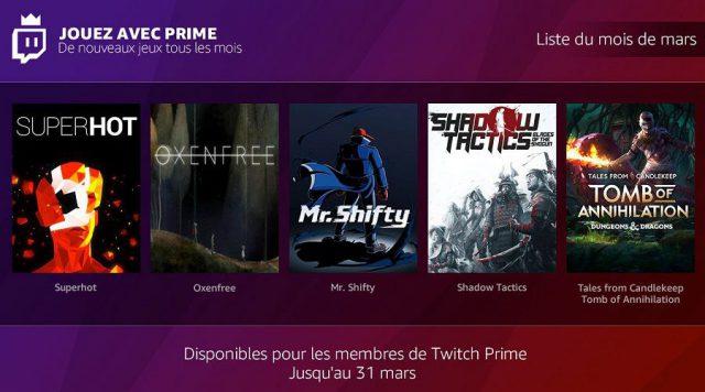 Les abonnés Amazon Prime profitent maintenant de jeux gratuits sur