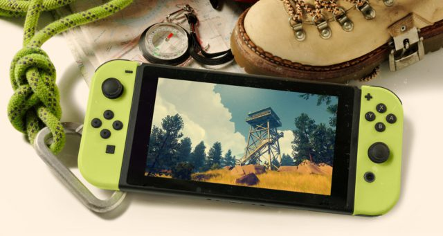 Overwatch… Euh pardon Firewatch sortira aussi sur Nintendo Switch !