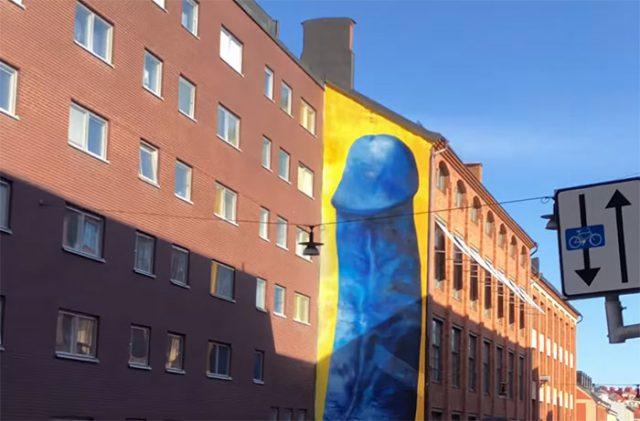 Pénis Bleu Stockholm