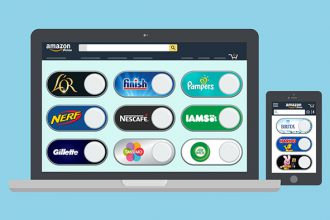 Virtual Dash Buttons