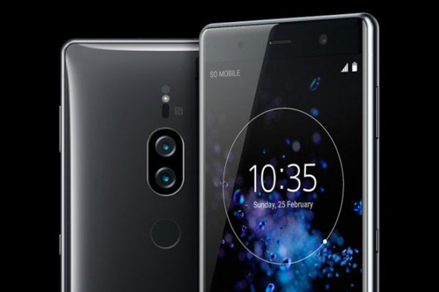Sony Xperia XZ2 Premium officiel