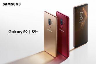 Galaxy S9 nouvelles couleurs