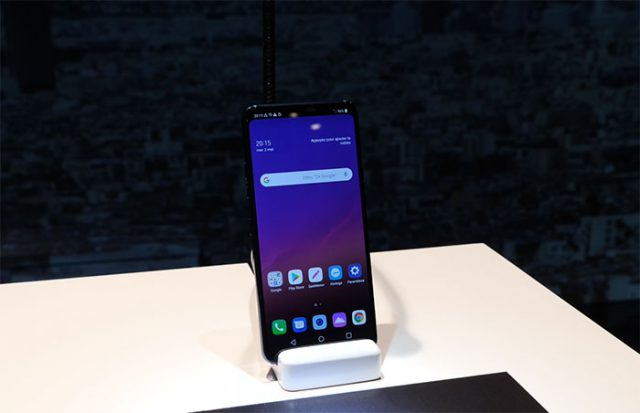 Prise en main LG G7 ThinQ : image 1