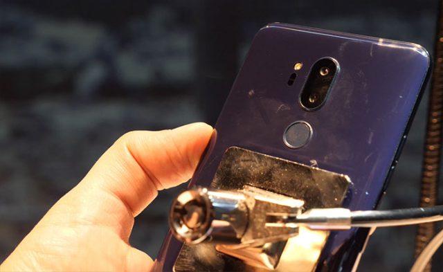 Prise en main LG G7 ThinQ : image 6