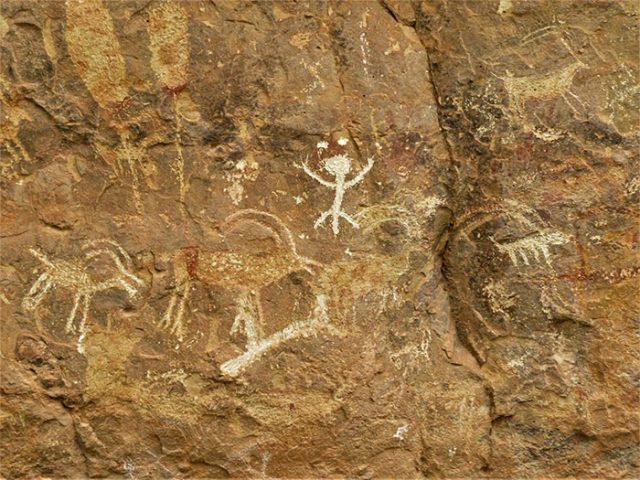 Pétroglyphes Arizona