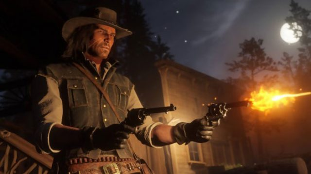 Red Dead Redemption 2 : capture 1