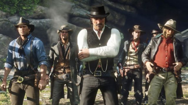 Red Dead Redemption 2 : capture 9