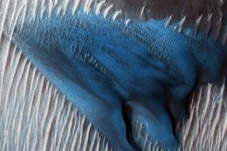 Dune Bleue Mars