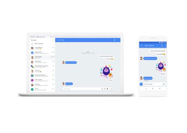 Android Messages : envoyer des messages depuis l'ordinateur