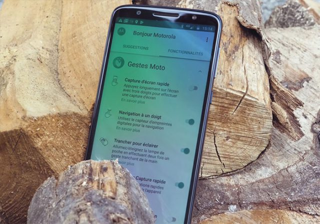 Test Moto G6 : image 8
