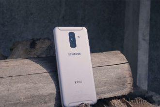 Test Galaxy A6+ : image 1