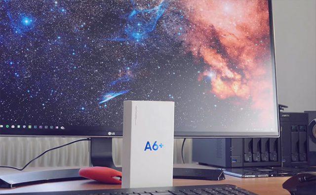 Prise en main Galaxy A6+ : image 1