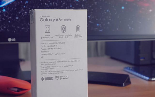Prise en main Galaxy A6+ : image 2