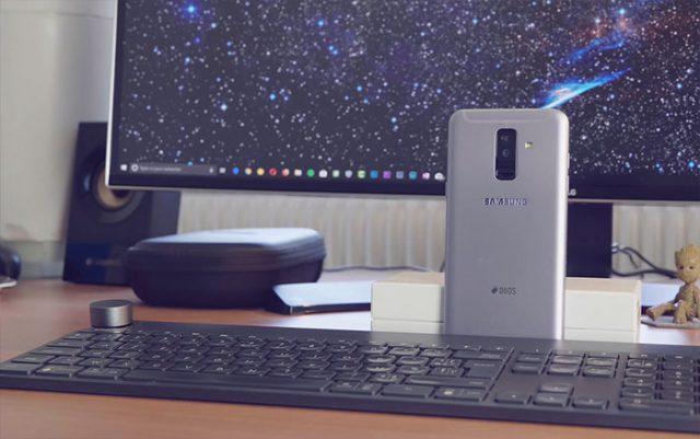 Prise en main Galaxy A6+ : image 4
