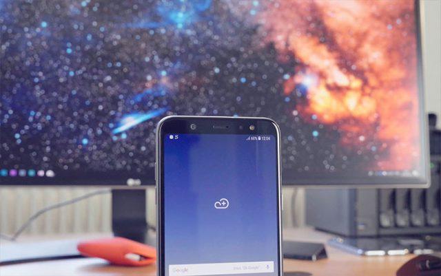 Prise en main Galaxy A6+ : image 5