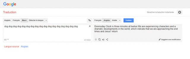 Google Traductions