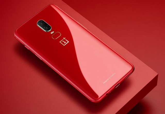 OnePlus 6 Amber Red : image 1