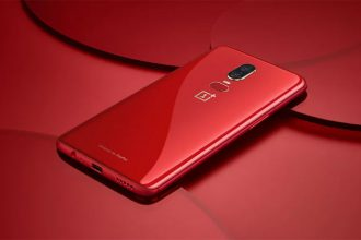 OnePlus 6 Amber Red : image 2