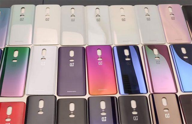 Coloris OnePlus 6
