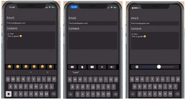 Touch Bar iPhone