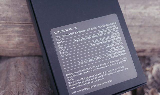 Umidigi Z2 : image 3