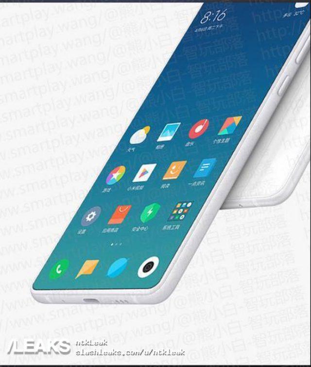 Xiaomi Mi Mix 3 : rendu 2