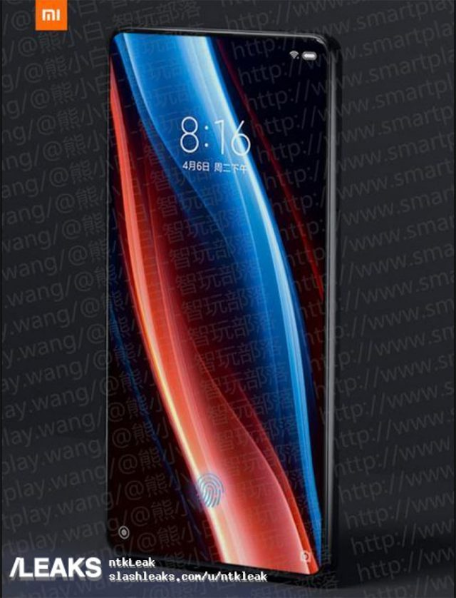 Xiaomi Mi Mix 3 : rendu 4