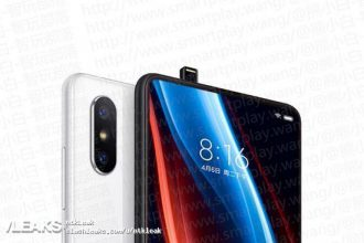 Xiaomi Mi Mix 3 : rendu 1