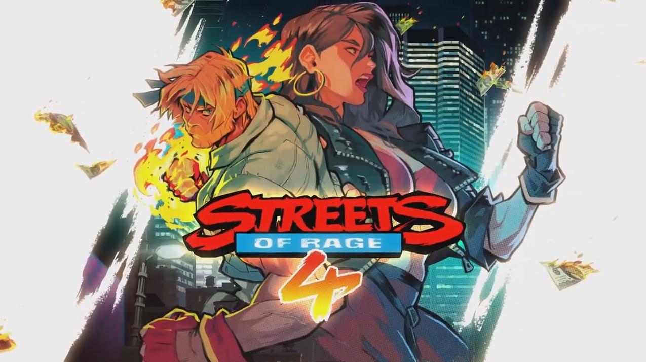 La jaquette de Streets of Rage 4