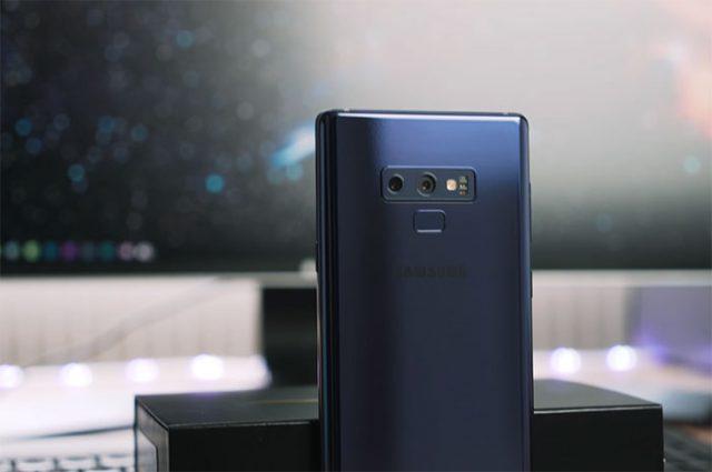 Prise en main Galaxy Note 9 : image 1