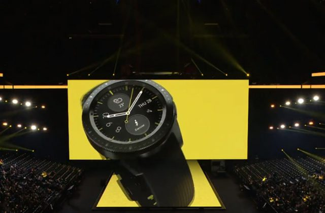 La Galaxy Watch, nouvelle montre connectée de l'univers Samsung