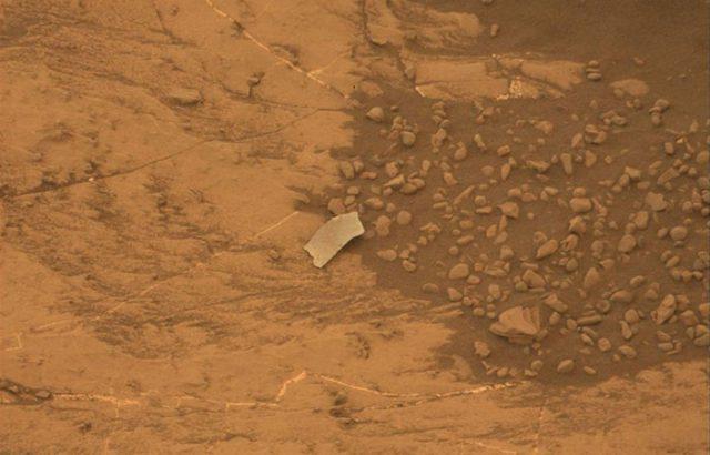 Débris Mars