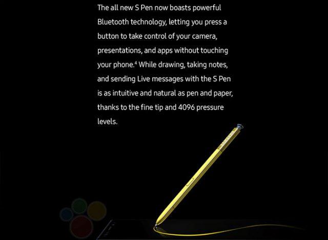 Fuite Galaxy Note 9 : image 1