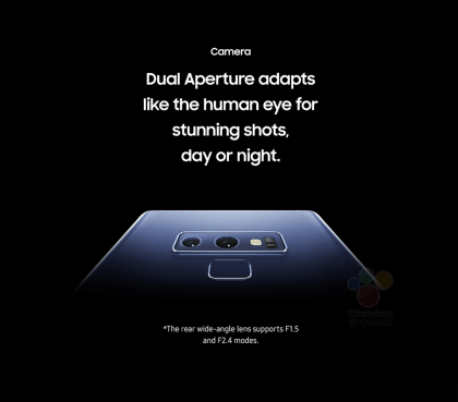 Fuite Galaxy Note 9 : image 2