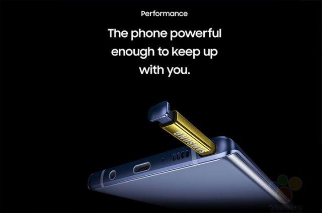 Fuite Galaxy Note 9 : image 3