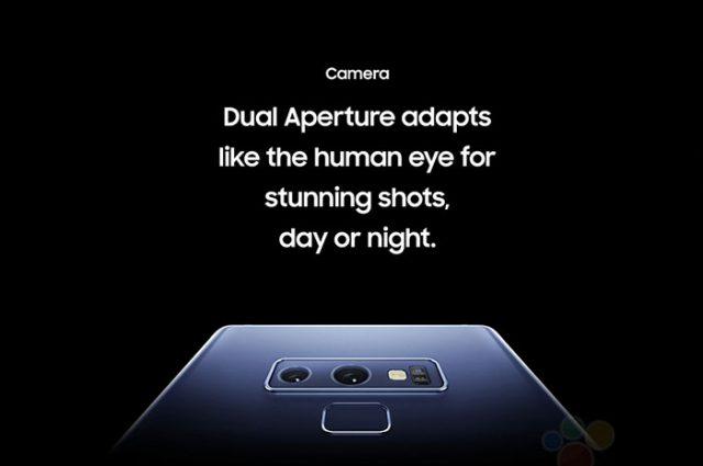 Fuite Galaxy Note 9 : image 4