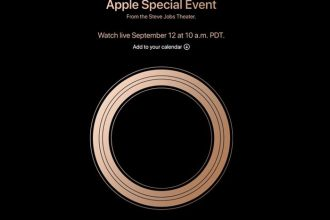 Keynote Apple 12 septembre.